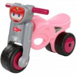 """Каталка-мотоцикл """"Мини-мото"""" (розовая) арт. 48233. ПОЛЕСЬЕ"""