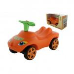 """Каталка """"Мой любимый автомобиль"""" со звуковым сигналом (оранжевая) (в коробке) арт. 66251. ПОЛЕСЬЕ"""