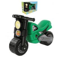 """Мотоцикл """"Моторбайк"""" (зелёный) (в коробке) арт. 66282. ПОЛЕСЬЕ"""