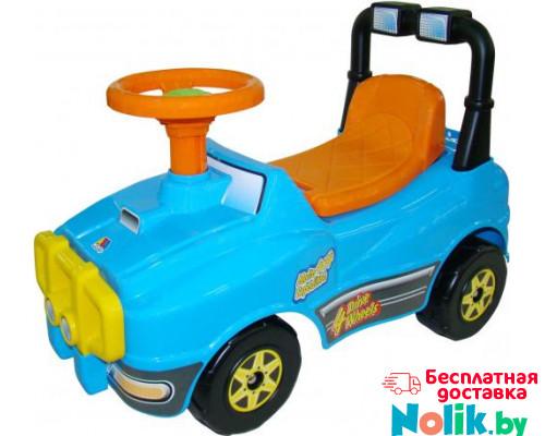 Автомобиль Джип-каталка (голубой) арт. 62840. ПОЛЕСЬЕ в Минске