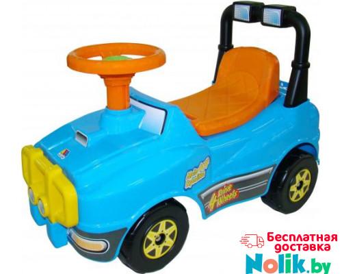 Автомобиль Джип-каталка - №3 (голубой) арт. 71842. ПОЛЕСЬЕ в Минске