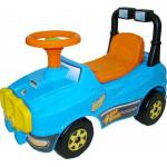Автомобиль Джип-каталка - №3 (голубой) арт. 71842. ПОЛЕСЬЕ
