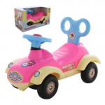 """Каталка-автомобиль для девочек """"Сабрина"""" (в коробке) арт. 67197. ПОЛЕСЬЕ"""