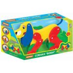 """Собака-каталка """"Боби"""" (в коробке) арт. 3330. ПОЛЕСЬЕ"""