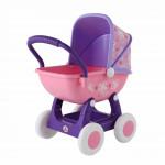 """Коляска для кукол """"Arina №2"""" 4-х колёсная (в пакете) цвет розовый арт. 48219. ПОЛЕСЬЕ"""