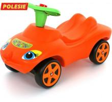 """Каталка """"Мой любимый автомобиль"""" со звуковым сигналом (оранжевая) арт. 44600. ПОЛЕСЬЕ"""