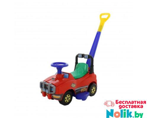 Автомобиль Джип-каталка с ручкой - №2 (красный) арт. 62949. ПОЛЕСЬЕ в Минске