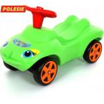 """Каталка """"Мой любимый автомобиль"""" со звуковым сигналом (зелёная) арт. 44617. ПОЛЕСЬЕ"""