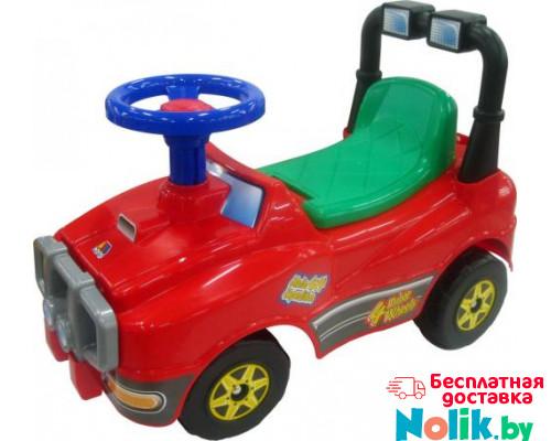 Автомобиль Джип-каталка (со звуковым сигналом) - №3 (красный) арт. 71859. ПОЛЕСЬЕ в Минске