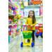 Тележка для маркета. Цвет салатовый арт. 7438. ПОЛЕСЬЕ в Минске