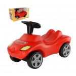 """Каталка-автомобиль """"Пожарная команда"""" со звуковым сигналом (в коробке) арт. 42262. ПОЛЕСЬЕ"""