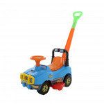 Автомобиль Джип-каталка с ручкой (голубой) арт. 62901. ПОЛЕСЬЕ