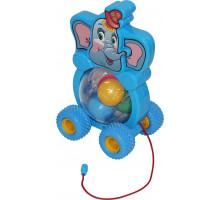 Детская каталка Бимбосфера - Слонёнок арт. 54432. ПОЛЕСЬЕ