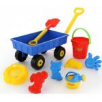 Тележка с игрушками для песочницы «Набор № 382» Polesie арт. 36384. ПОЛЕСЬЕ