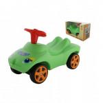 """Каталка """"Мой любимый автомобиль"""" со звуковым сигналом (зелёная) (в коробке) арт. 66268. ПОЛЕСЬЕ"""