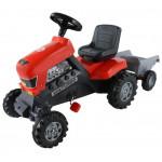 """Каталка-трактор с педалями """"Turbo"""" с полуприцепом арт. 52681. ПОЛЕСЬЕ"""