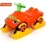 """Каталка """"Мой любимый автомобиль"""" со звуковым сигналом многофункциональная (оранжевая) арт. 44631. ПОЛЕСЬЕ"""