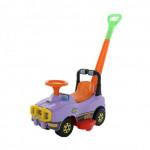 Автомобиль Джип-каталка с ручкой - №2 (сиреневый) арт. 62956. ПОЛЕСЬЕ