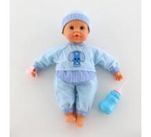 """Кукла """"Пупс"""": озвученная, сосёт соску, пьёт из бутылочки арт. 38442. Falca (Испания)"""