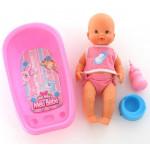 """Кукла """"Пупс"""": пьёт и ходит на горшок (с ванной для купания) арт. 40512. Falca (Испания)"""