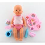 """Кукла """"Пупс"""": пьёт и кушает (с набором для кормления) арт. 40513. Falca (Испания)"""
