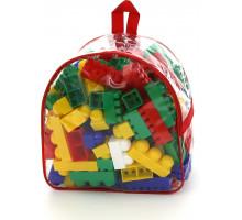 """Конструктор """"Супер-Микс"""" (144 элемента) (в рюкзаке) арт. 8039. Полесье"""