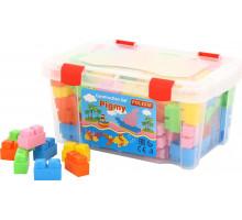 """Конструктор """"Малютка"""" (132 элемента) (в контейнере) арт. 50502. Полесье"""