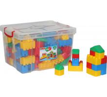"""Конструктор """"Беби"""" (132 элемента) (в контейнере) арт. 53633. Полесье"""