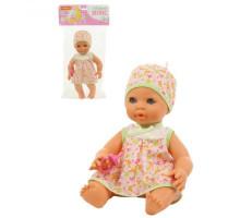 """Детская игрушка кукла Пупс """"Забавный"""" (35 см) с соской (в пакете) арт. 71477. Полесье"""