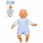 """Детская игрушка кукла Пупс мягконабивной """"Милый"""" (28 см) в комбинезоне (в пакете) арт. 71637. Полесье"""