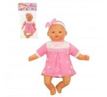 """Детская игрушка кукла Пупс мягконабивной """"Милый"""" (28 см) в платье (в пакете) арт. 71699. Полесье"""