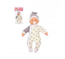 """Детская кукла игрушка Пупс мягконабивной """"Милый"""" (28 см) с соской (в пакете) арт. 73075. Полесье"""