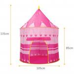 Детская игровая палатка Замок Принцессы 105x135 см розовая Арт. 9999Р