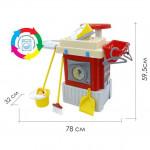 Детский набор для стирки и уборки INFINITY basic №3 (в коробке) (Стиральная машина) арт. 42293. Полесье