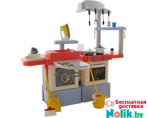 Детская кухня с прачечным набором  INFINITY premium №4 (световые, звуковые эффекты, насос на воду)   (в коробке) арт. 42361. Полесье в Минске