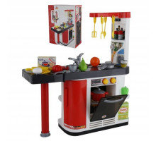 Набор кухня Мастер Шеф с набором посуды и фруктов (в коробке) арт. 67609. Полесье