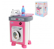 Детский набор Carmen №2 со стиральной машиной (в коробке) арт. 57907. Полесье