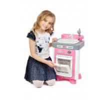 Детский игровой набор Carmen №3 с посудомоечной машиной и мойкой (в пакете) арт. 47946. Полесье