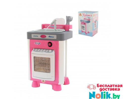 Детский набор Carmen №3 с посудомоечной машиной и мойкой (в коробке) арт. 57914. Полесье в Минске