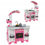 Детский игровой набор кухня Carmen №7 с посудомоечной машиной и варочной панелью (оборудован световыми и звуковыми эффектами) (в пакете) арт. 47991. Полесье
