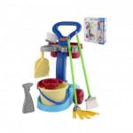 Набор детский для уборки   Чистюля  (в коробке) арт. 36575. Полесье
