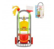 Детский набор для уборки  Чистюля-мини  (в коробке) арт. 42910. Полесье