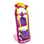 Набор детский для уборки   Чистюля-мини  (в сеточке) арт. 44747. Полесье