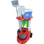 Набор детский для уборки   Помощница  (в сеточке) арт. 46956. Полесье