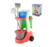 Детский набор для уборки  Помощница  (в коробке) арт. 53602. Полесье