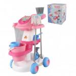 Набор детский для уборки   Помощница-4  (в коробке) арт. 58881. Полесье
