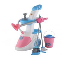 Детский набор для уборки  Помощница-5  ( с пылесосом) (в пакете) арт. 54999. Полесье