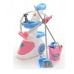 Набор детский для уборки Помощница-5  (с пылесосом) (в коробке) арт. 59314. Полесье