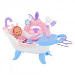 Набор для купания кукол №1 с аксессуарами и пупсом (в пакете) арт. 47243. Полесье