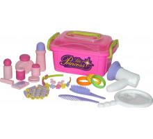 Детский игрушечный набор  Маленькая принцесса  №7 (в контейнере) арт. 53497. Полесье